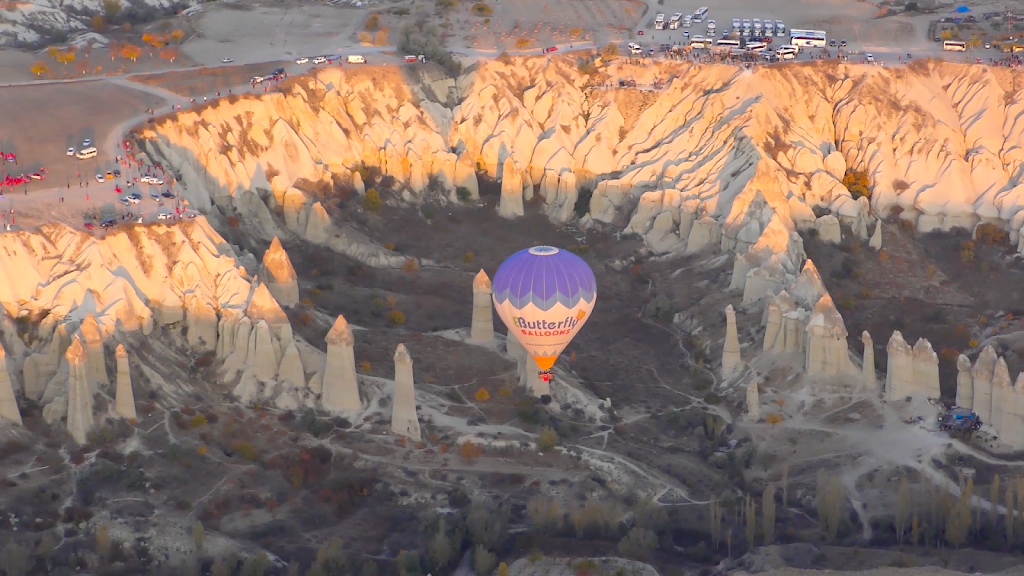 The Fairy Chimneys of Cappadocia: Part 1